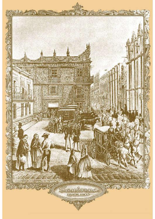 Sanborns avenida presidente plutarco el as calles no 1897 for Sanborns azulejos horario