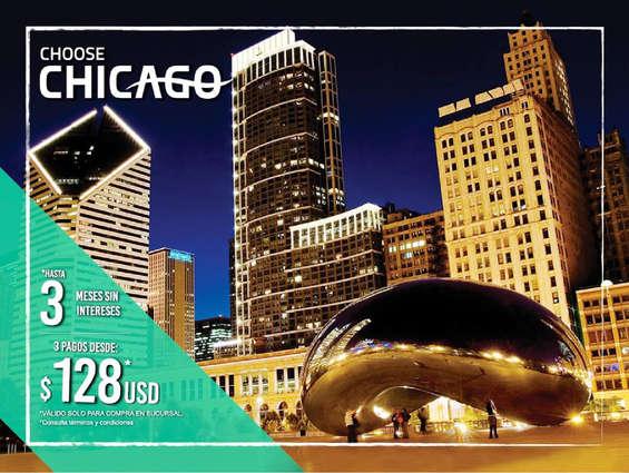 Ofertas de Viajes El Corte Inglés, Promo Chicago Corte ingés
