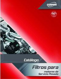 Filtros para motores de servicio pesado