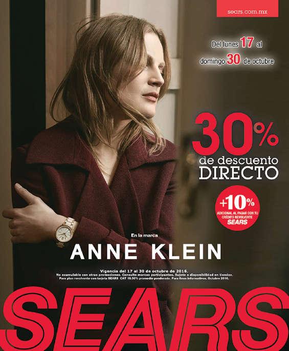 Ofertas de Sears, 30% de descuento directo