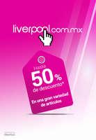 Ofertas de Liverpool, Hasta 50% de descuento