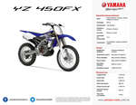 Ofertas de Yamaha, YZ 250FX