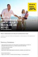 Ofertas de Europcar, Reservación en línea