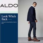 Ofertas de Aldo, Look who´s back