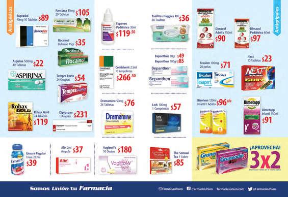 Ofertas de Farmacias Unión, Que esta cuesta no te cueste