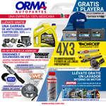 Ofertas de Orma Autopartes, Promociones marzo
