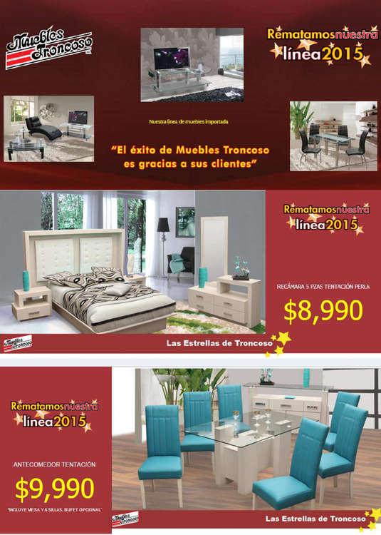 Muebles troncoso ofertas cat logos y folletos ofertia for Muebles troncoso salas