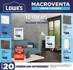 Ofertas de Lowes, Catálogo mensual