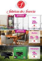 Ofertas de Fábricas de Francia, Promociones
