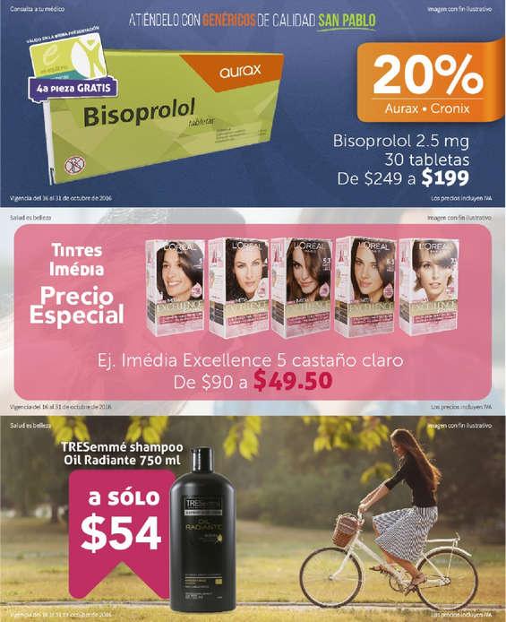 Ofertas de Farmacia San Pablo, Ofertas