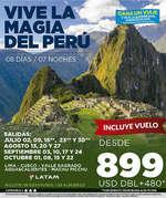Ofertas de Excel Tours, Vive la magia del Perú