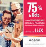 Ofertas de Lux, 75% de descuento