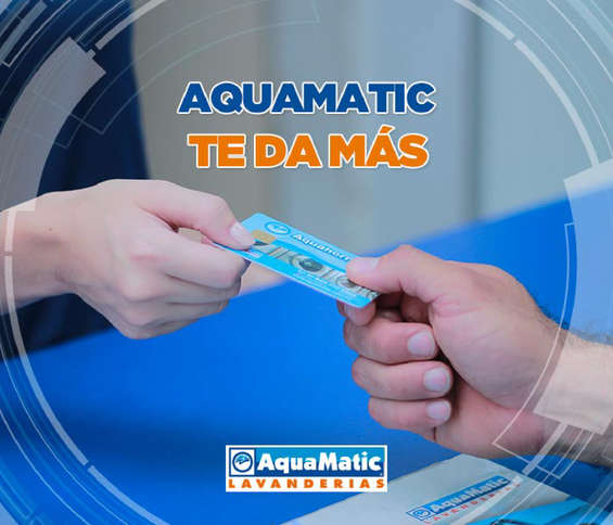 Ofertas de AquaMatic, Aquamatic te da más