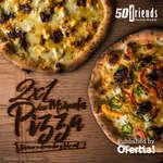 Ofertas de 50 Friends, Miércoles Pizza 2x1