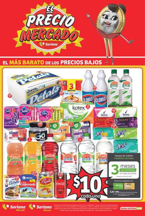 Ofertas de Soriana Express, El Precio mercado