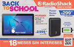 Ofertas de RadioShack, Back to school agosto 2019