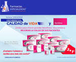 Ofertas de Farmacias Especializadas, Compra 3 piezas y recibe una más sin costo!