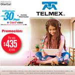Ofertas de Telmex, Promociones $435.00 al mes