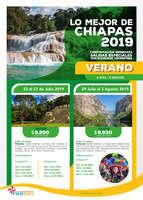 Ofertas de Viva Tours, Chiapas 2019