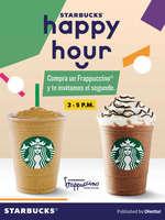 Ofertas de Starbucks, Happy Hour