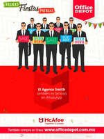 Ofertas de Office Depot, Mcafee together is power
