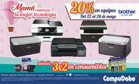20% En equipos Brother