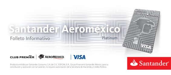 Ofertas de Santander, Folleto Informativo Aeromexico Platinum