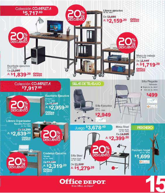Ofertas de Office Depot, Folleto Junio
