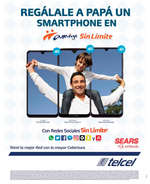 Ofertas de Telcel, Regálale a papá un smartphone
