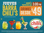 Ofertas de Chili's, Desde $49.00
