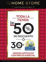Ofertas de The Home Store, Buen Fin Toda la tienda hasta 50%