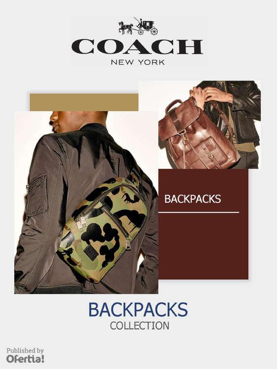 Ofertas de Coach, Backpacks