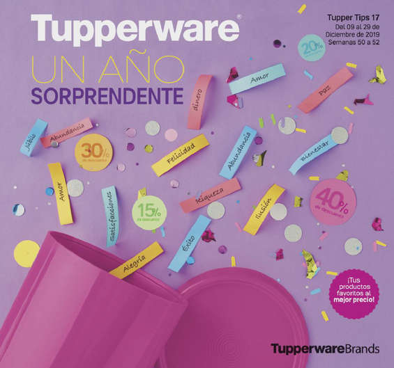 Ofertas de Tupperware, Tupper Tips 17