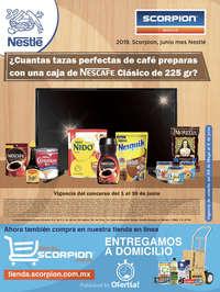 Concurso Scorpion - Mes Nestlé