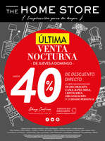 Ofertas de The Home Store, Venta Nocturna