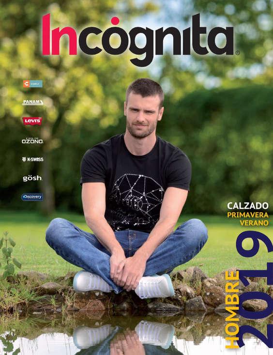 308da5f3 Ofertas de Incógnita, CATÁLOGO HOMBRE COLECCION-PRIMAVERA-VERANO 2019