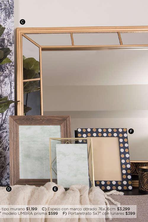 Decoraci n y espejos en el pueblito cat logos ofertas y for Donde venden espejos