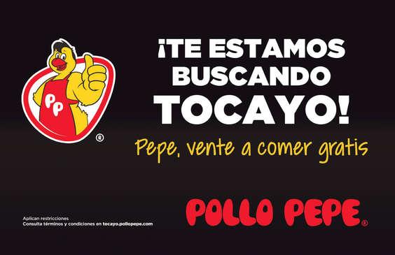 Ofertas de El Pollo Pepe, Pepe Gratis