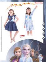 Ofertas de Woolworth, Productos Oficiales Frozen II