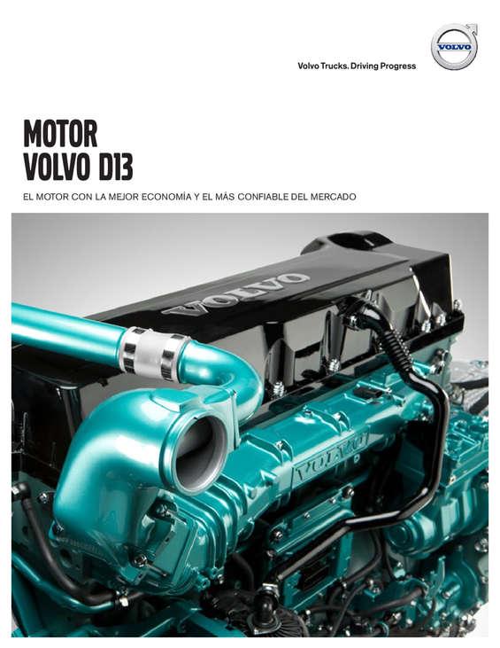 Ofertas de Volvo, Motor volvo d13