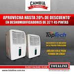 Ofertas de Totaline, Descuento en humidificadores