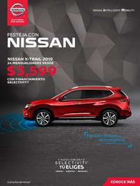 Festeja con Nissan X-Trail
