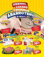Ofertas de S-Mart, Viernes, sábado y domingo abarrotero - CAPITAN Y ARCOS