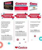 Ofertas de Costco, Costos de membresía