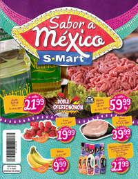 Sabor a México S-mart- Díptico Solidadridad 19-21 sep Mty