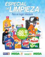Ofertas de Soriana Súper, Especial de limpieza