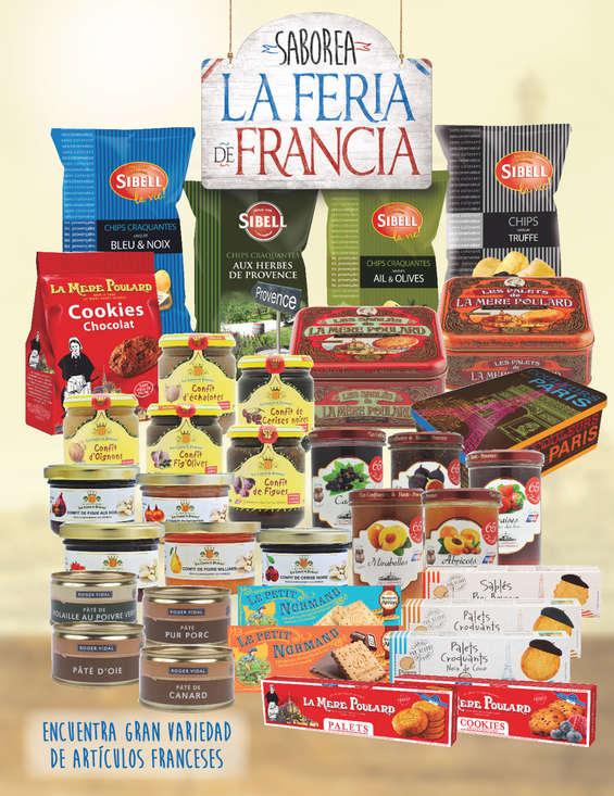 Ofertas de Superama, Saborea la Feria de Francia