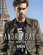Ofertas de André Badi, Fall Winter 2017 Men