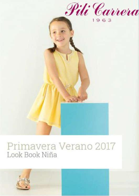Ofertas de Pili Carrera, Lookbook PV niñas 2017