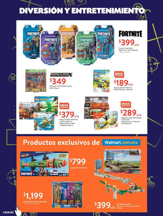 Ofertas de Walmart, Feria del videojuego